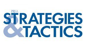 PRSA Stragies & Tactics logo